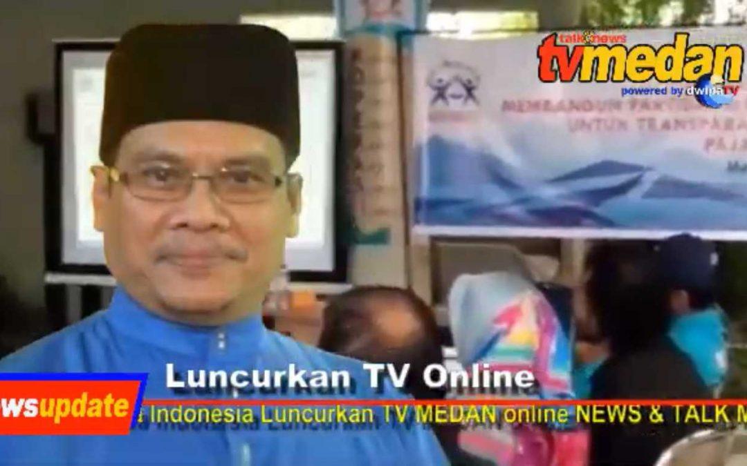 Yayasan Pusaka Indonesia Luncurkan TV MEDAN ONLINE