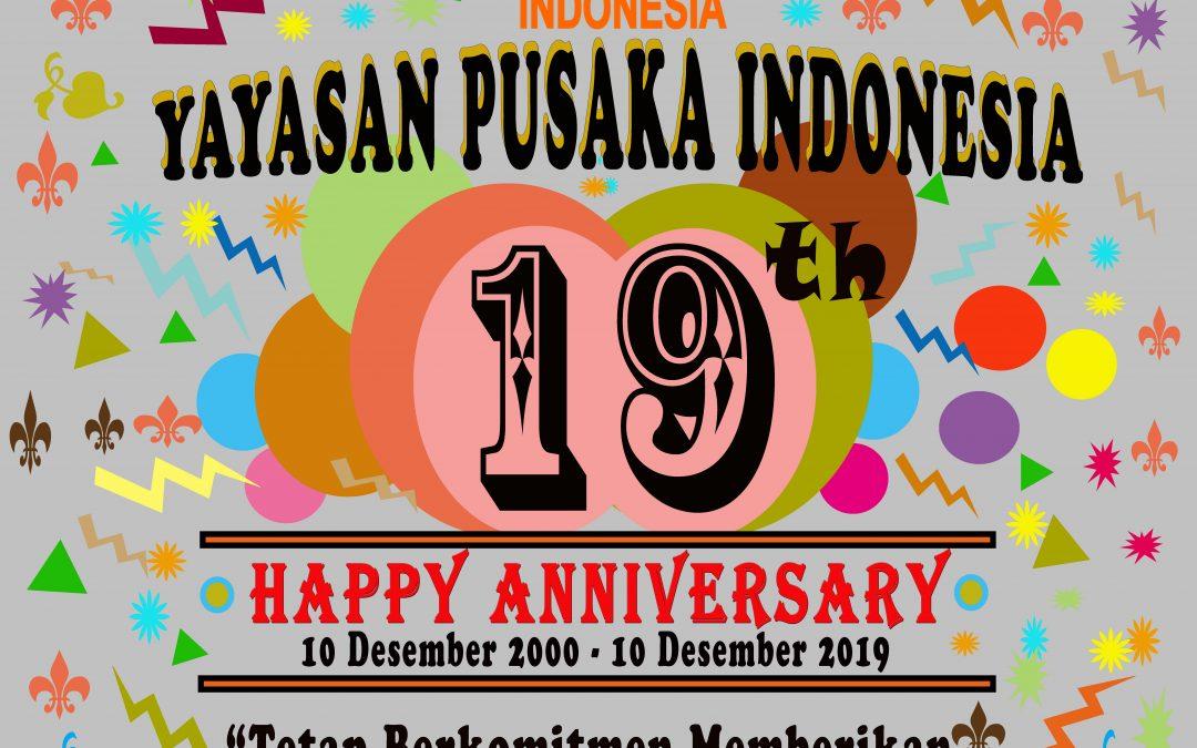 19 Tahun Yayasan Pusaka Indonesia (YPI) Tetap Berkomitmen Memberikan Kepentingan Terbaik Bagi Anak-Anak Indonesia