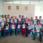 Pembagian Voucher Cash Grant untuk Kelompok Tani di Desa Dampingan Pusaka Indonesia-Caritas