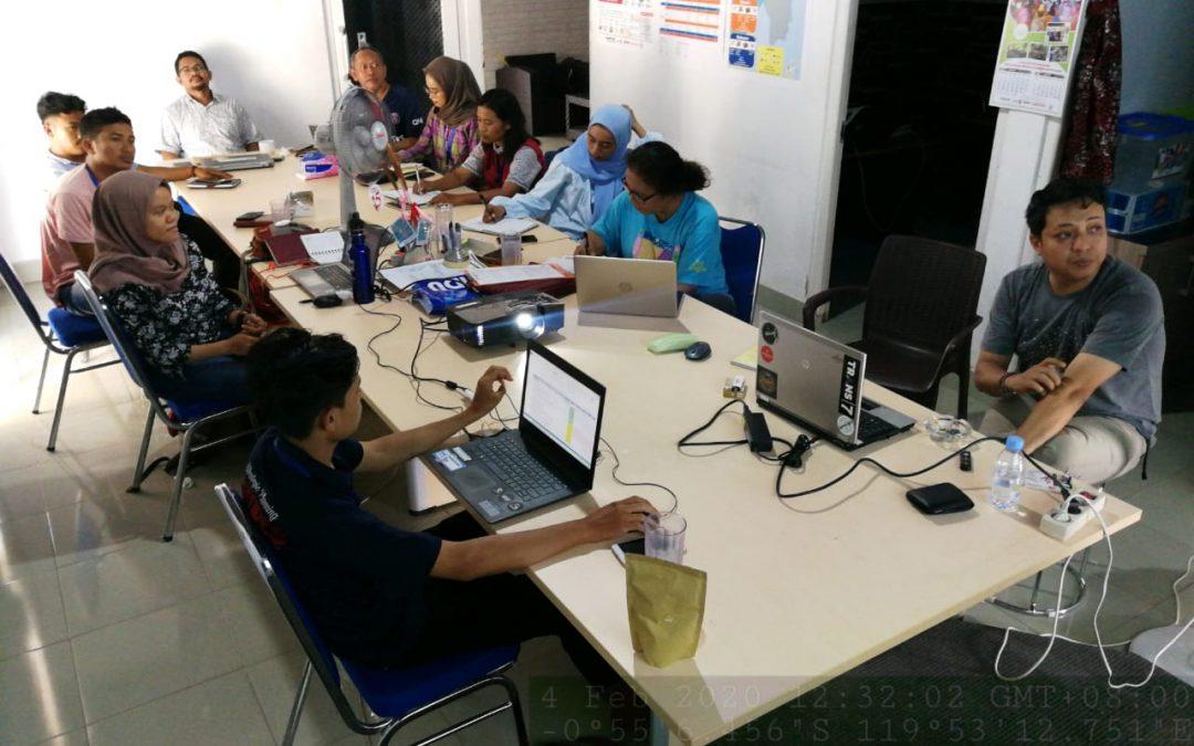 Pertemuan Internal Tim Pusaka Indonesia-Caritas