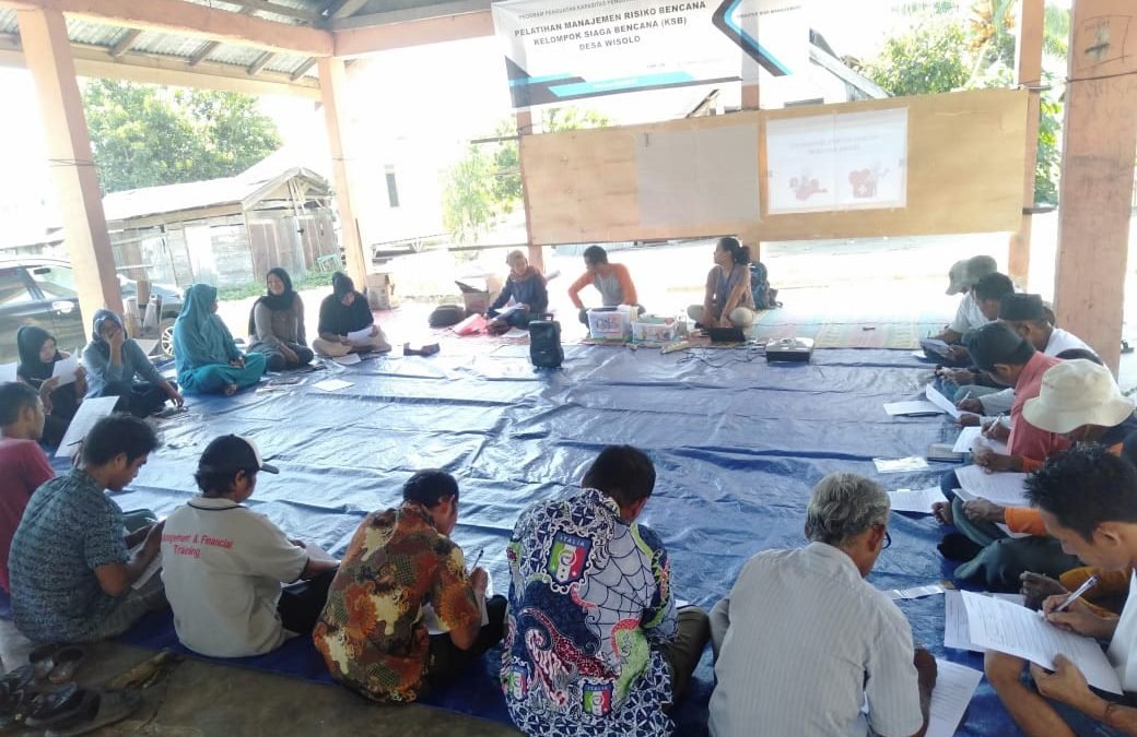 Manajemen Resiko Bencana desa Wisolo