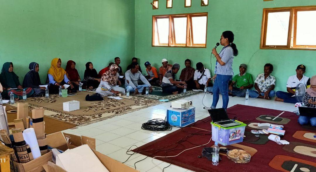 Pelatihan Manajemen Resiko Bencana desa Baluase