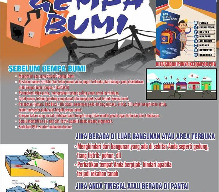 Poster Siaga Gempa Bumi