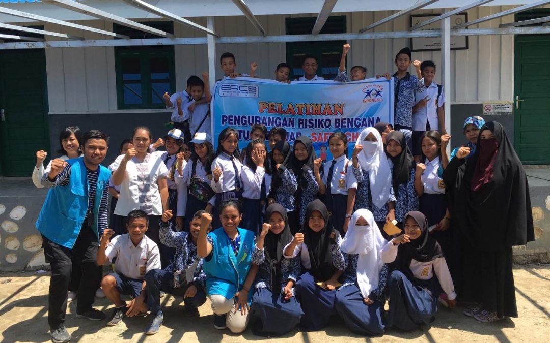 Pelatihan PRB Untuk Pelajar MTs Alkhairaat Salua dan SMP Satu Atap Negeri 5 Sigi