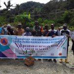 Cegah Longsor, YPI dan CRS Tanam Ribuan Pohon Ekonomis dan Berfungsi Konservasi