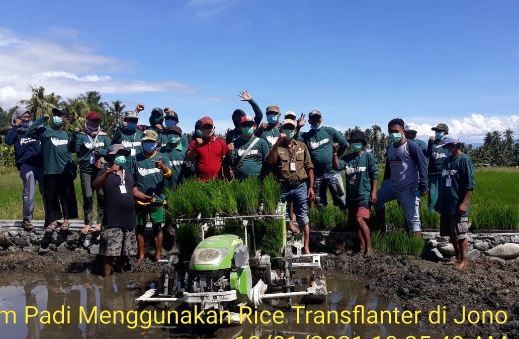 Petani Desa Sambo Dan Desa Jono Siap Berinovasi Untuk Budidaya Padi