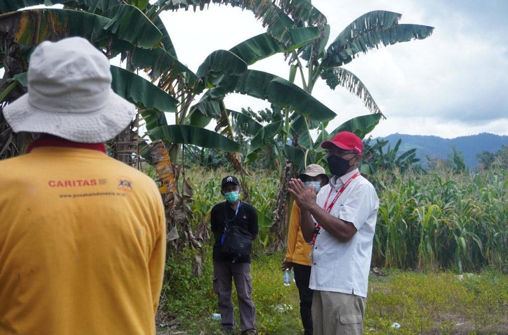 Kunjungan Lapangan Tim Caritas