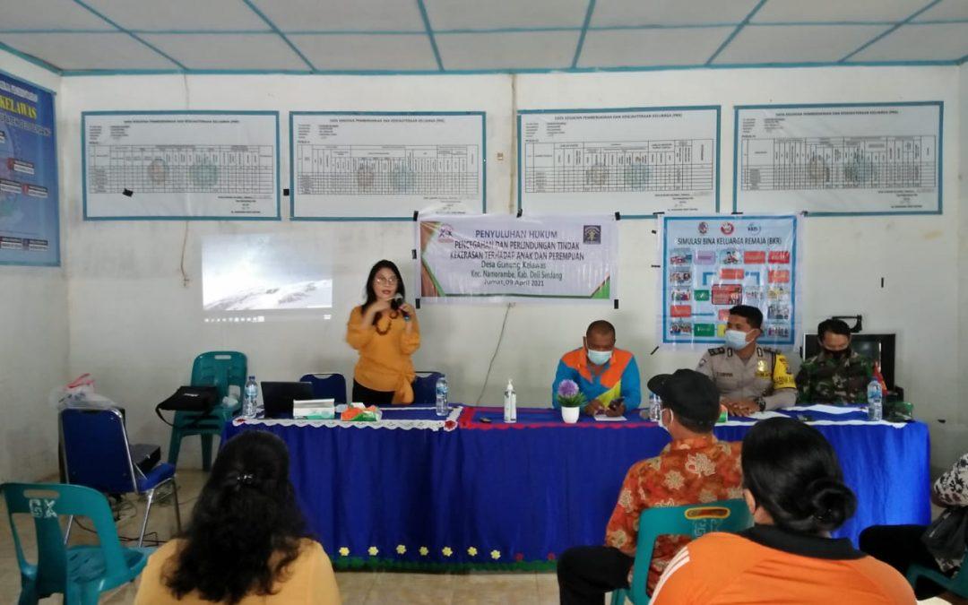 Penyuluhan Hukum Perlindungan Tindak Kekerasan Terhadap Anak dan Perempuan