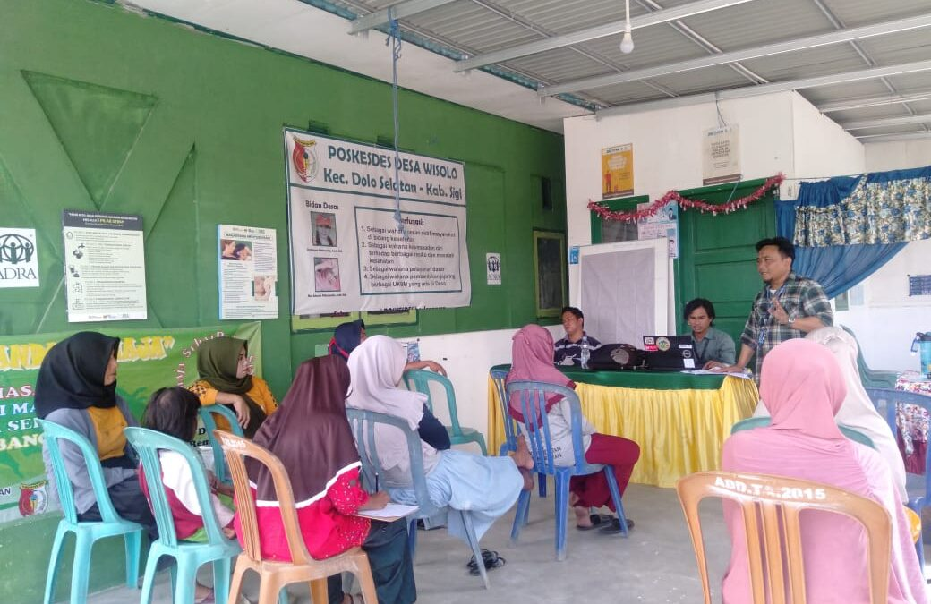 Pertemuan Kelompok UMKM Sintuvu Singgani desa Wisolo