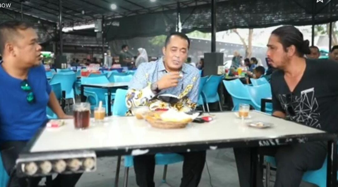 Buat Konten Sambil Merokok, Wakil Walikota Medan Dikecam