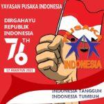 DIRGAHAYU REPUBLIK INDONESIA KE 76 TAHUN